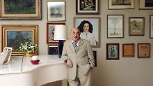 Filmproduzent Atze Brauner wird seinen 100. Geburtstag sehr ruhig feiern.
