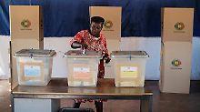 Gewaltige Aufgaben warten: Regierungspartei siegt in Simbabwe