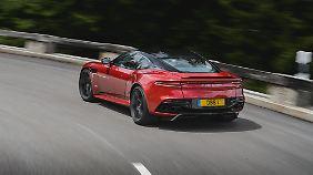 Wenn andere Verkehrsteilnehmer den neuen GT zu sehen bekommen, dann meistens so.