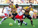 Qualifikation für Europa League: RB Leipzig stolpert in die nächste Runde