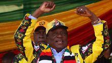 """""""Das Krokodil"""" bleibt Staatschef: Mnangagwa gewinnt Wahl in Simbabwe"""