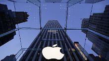 Als erstes US-Unternehmen schafft Apple einen dreizehnstelligen Börsenwert.