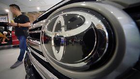 Gewinn auf US-Markt schrumpft: Toyota übertrifft in Europa und Asien die Erwartungen