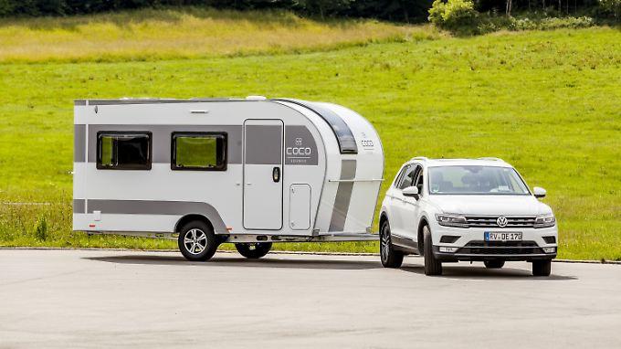 neuheiten auf dem caravan salon wohnwagen als loft oder. Black Bedroom Furniture Sets. Home Design Ideas