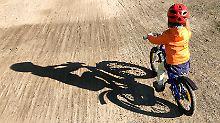 Motorische Schwierigkeiten: Mehr Kinder haben Probleme beim Radfahren