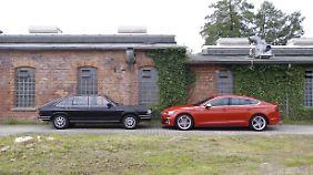 Vor 40 Jahren hätte sich keiner getraut einen Audi 100 klein zu nennen.