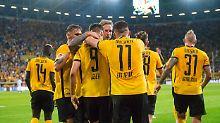 MSV mit Negativ-Serie: Dynamo holt Auftaktsieg gegen Duisburg