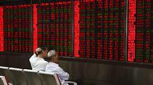 Der Börsen-Tag: Shanghai dreht ins Plus
