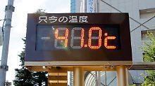Noch einen Tacken heißer als in Deutschland: Die Japaner schwitzen bei bis zu 41 Grad.