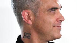 Promi-News des Tages: Robbie Williams berichtet über Erlebnisse mit Außerirdischen