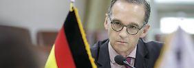 Kritik an US-Sanktionen: Außenminister Maas fürchtet Chaos im Iran