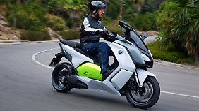 Das wohl ausgereifteste Modell kommt mit dem C-Evolution von BMW, kostet aber auch 14.000 Euro.