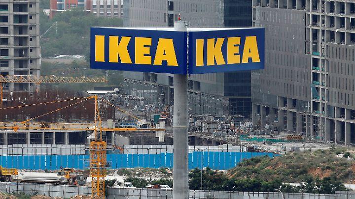 Im Juli war Indiens erster Ikea-Markt noch eine Baustelle - für die Eröffnung reisten Menschen aus dem ganzen Land an.