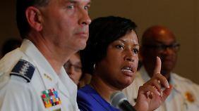Washingtons Bürgermeisterin Muriel Brown kritisierte die rechten Demonstranten.