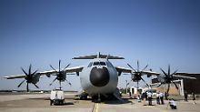 Spezial-Flughafen bei Hannover: A400M-Militärbasis kostet 750 Millionen Euro