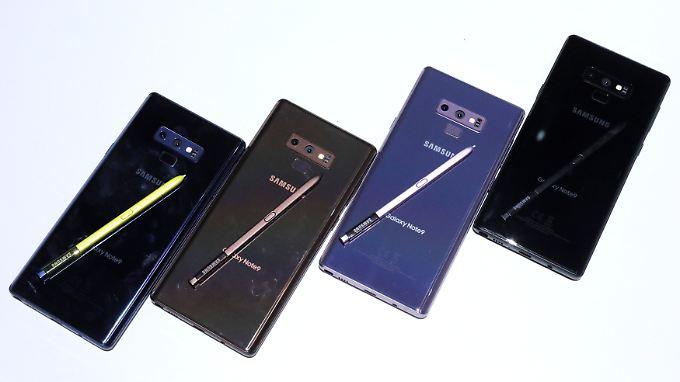 Galaxy Note 9 mit Bluetooth-Stift: Neues Samsung-Flaggschiff soll Zocker anlocken