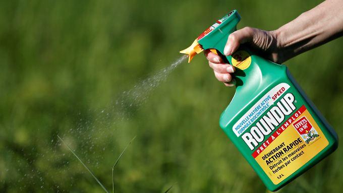 Der Unkrautvernichter Roundup enthält Glyphosat.