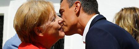 """Dublin """"nicht funktionsfähig"""": Merkel verspricht Spanien Hilfe"""