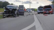 Tragischer Unfall bei Rostock: Frau und Mädchen sterben auf der A20