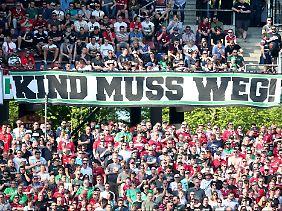 Neulich im Niedersachsenstadion.