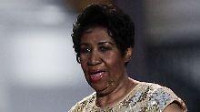 Familie bittet um Gebete: Aretha Franklin offenbar todkrank