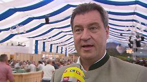 """Markus Söder im Interview: """"Meistens ist es so, dass alle motzen, aber wenig tun"""""""