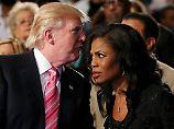 Vor noch nicht allzu langer Zeit verteidigte Omarosa Manigault Newman Trump gegen Rassismus-Vorwürfe. Nun erhebt sie sie selbst.