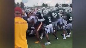 Eklat beim Training: NFL-Teams starten Schlägerei