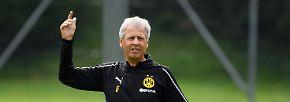 LUCIEN FAVRE: Borussia Dortmund will sich von dem Schweizer Lucien Favre fußballerisch generalüberholen lassen.