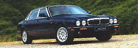 Das im X300 eingeführte Design – das Styling erinnerte wieder mehr an die beliebte Serie III – wurde mit leichten Modifikationen für den 1997 eingeführten X308 übernommen. Mit diesem Modell hielt nun auch der erwähnte neue Jaguar-V8 in einer Limousine Einzug. Der Achtzylinder wurde als 3,2 Liter (237 PS) und 4,0 Liter (284 PS) angeboten, die stärkere Variante gab es auch als Kompressor-Ausführung mit 363 PS.
