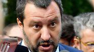 """Salvini zum Brückenunglück in Genua: """"Betreiber hat Milliarden verdient, aber nicht investiert"""""""