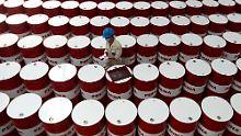 Barrel für Barrel plötzlich bis zu 40 Cent mehr wert.