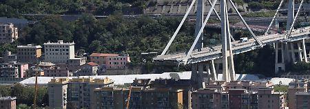 Ordnungsgemäße Wartung?: Italien ermittelt gegen Brückenbetreiber