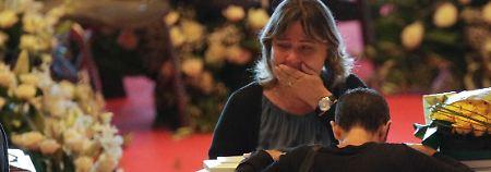 Opfer der Brückenkatastrophe: Genua nimmt tränenreich Abschied