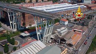 Trauerfeier für Opfer in Genua: Brückenbetreiber verspricht 500 Millionen Euro für Hilfsfonds