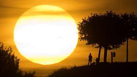 Temperaturumschwung Ende der Woche: Sommer bäumt sich nochmal auf