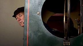 Achtjährige Ausbildung: Dampflokführer gesucht
