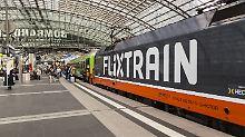 Wegen unlauteren Wettbewerb: Flixtrain verklagt Deutsche Bahn