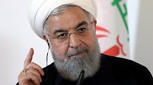Iran stellt neuen Kampfjet vor: Ruhani will Kampfkraft des Militärs stärken