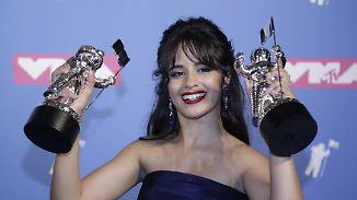 Trump-Kritik bei den MTV Music Awards: Camila Cabello ist die Überraschung des Abends