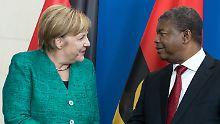 Militärische Unterstützung: Merkel will Angola bei Küstenschutz helfen