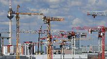 Stärkstes Halbjahr seit 1995: Baufirmen kommen Aufträgen nicht hinterher