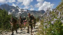 In Gletschergebiet im Kaukasus: Gebirgsjäger entdecken Weltkriegsgräber