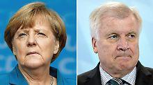 Unionsspitze in Sommerinterviews: Merkel und Seehofer verbreiten Harmonie
