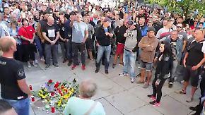 Haftbefehle wegen Totschlags erlassen: Rechte marschieren in Chemnitz auf