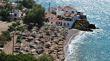 Touristen verlassen Hydra: Griechische Insel ohne Strom und Wasser