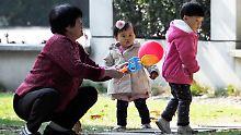 Ende strenger Geburtenpolitik: China will mehr als zwei Kinder erlauben