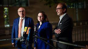 Stundenlange Verhandlungen im Kanzleramt: Große Koalition legt Rentenstreit bei