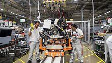 """Wie ein """"Weihnachtsgeschenk"""": Deutsche Autobauer profitieren von Nafta"""