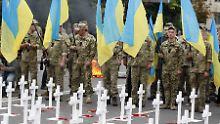 Mehr als 70 Verstöße: Feuerpause in der Ukraine sofort gebrochen